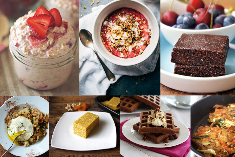 list of 33 healthy breakfast ideas and recipes