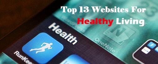 healthy livnig websites and phone app